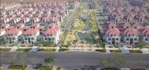 hình ảnh thực tế phân khu swanpark 1b